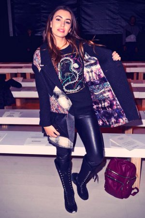 Sophie Simmons attends Custo Barcelona Fashion Show