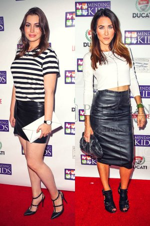 "Sophie Simmons & Erin Coscarelli attend the ""Music On A Mission"" benefit concert"