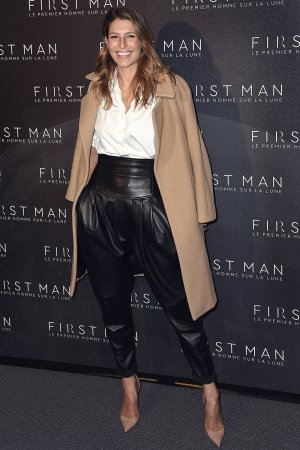 Sophie Thalmann attending the premiere of First Man