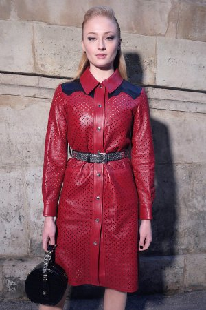 Sophie Turner at Louis Vuitton Fashion Show