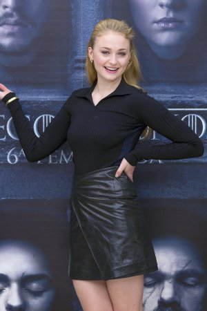 Sophie Turner attends a photocall for 'Game of Thrones'