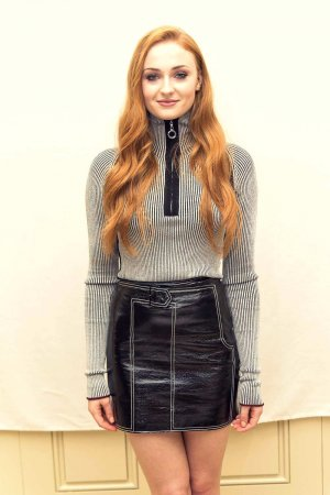 Sophie Turner attends Game of Thrones season 6 press conference