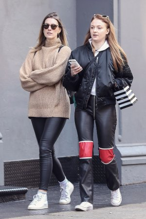 Sophie Turner out shopping in Soho