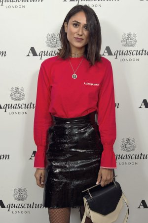 Soraya Bakhtiar attends the Aquascutum SS17 Presentation