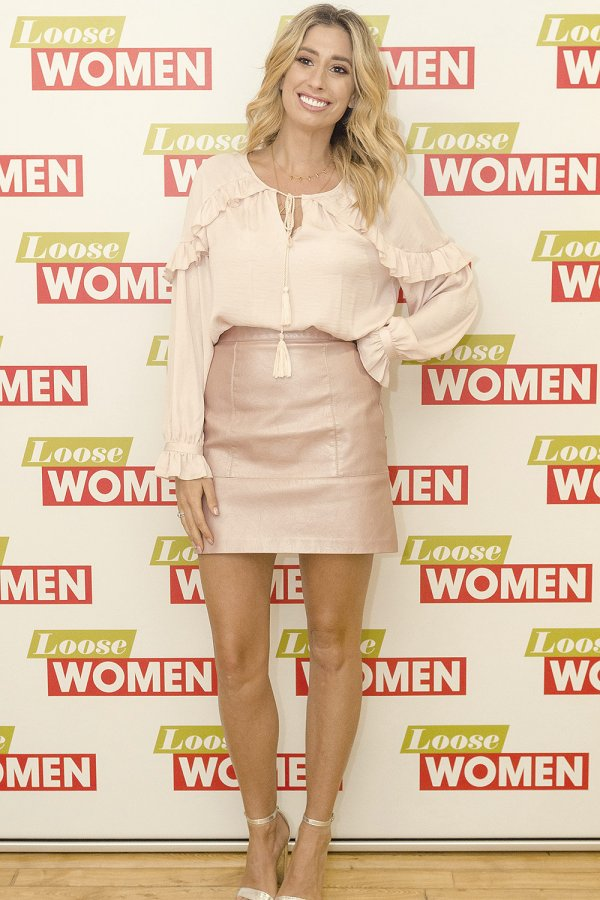 Stacey Solomon attends Loose Women TV Show