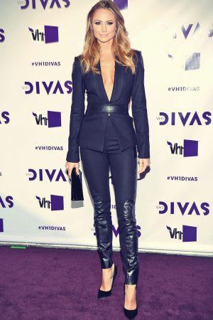 Stacy Keibler attends 2012 VH1 Divas
