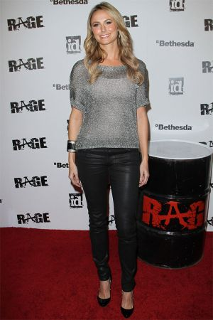 Stacy Keibler rage Official Launch Party in Los Angeles