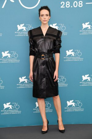 Stacy Martin attends Jury Photocall at 76th Venice Film Festival