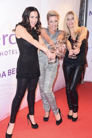 Stefanie Hertel & Alexandra & Anita Hofmann attend 6th Smago