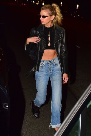Stella Maxwell dinner at Chateau Marmont