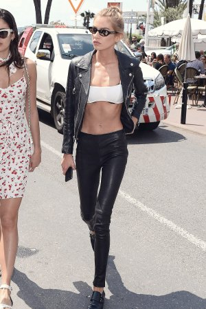 Stella Maxwell is seen during the 71st Cannes Film Festival