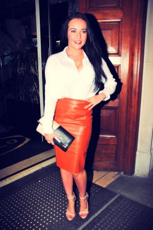 Stephanie Davis at San Carlo Restaurant in Manchester