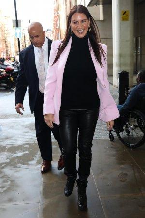 Stephanie McMahon arrives at BBC studio