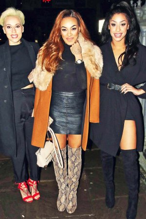 Stooshe arrive at The Joshua Kane Bespoke with Lab Series