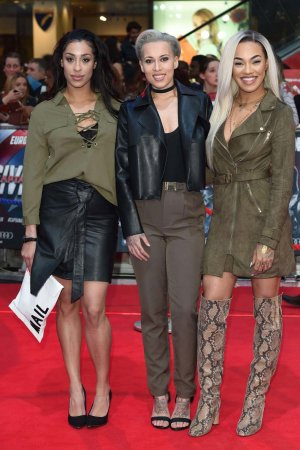 Stooshe attend Captain America Civil War Premiere