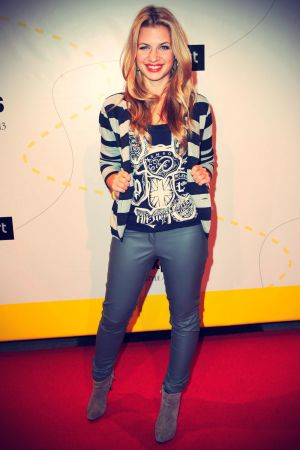 Susan Sideropoulos attends Musikexpress Style Award 2013