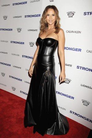 Svetlana Metkina attends Stronger film premiere