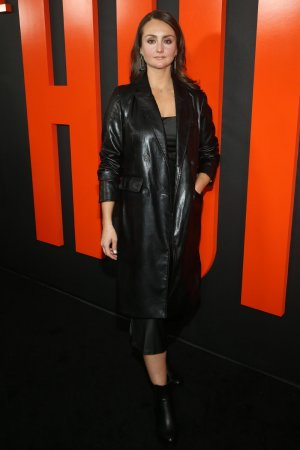 Sylvia Grace Crim at The Hunt special screening