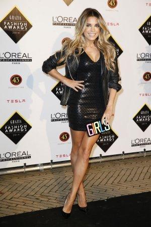 Sylvie Meis attends Grazia Fashion Awards