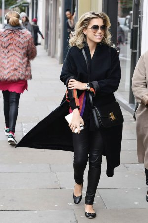 Sylvie Meis out shopping in London