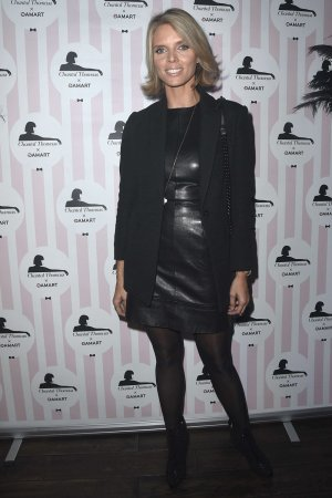 Sylvie Tellier attends Chantal Thomass Damart Thermolactyl show