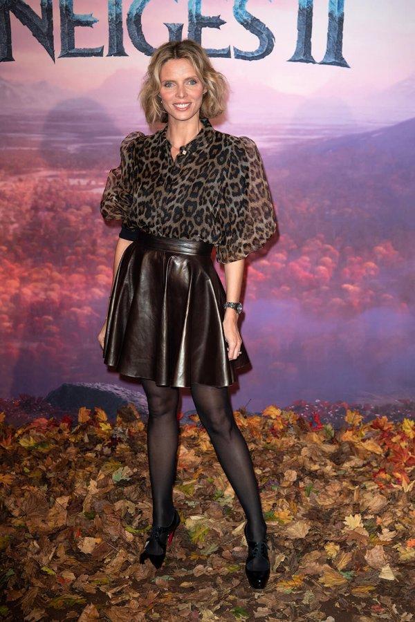 Sylvie Tellier attends The Frozen 2 Premiere