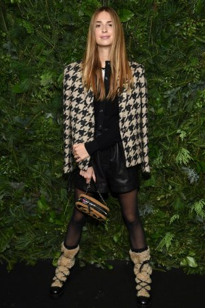 Talita von Furstenberg arrives to the Chanel No 5