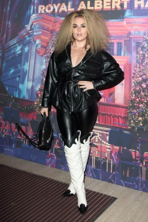 Tallia Storm attends the Emma Bunton Christmas Party