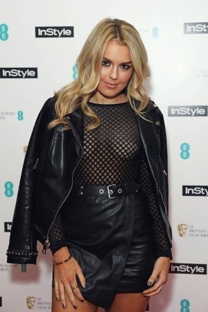 Tallia Storm attends the InStyle EE Rising Star Party ahead of the EE BAFTA Awards