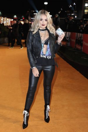 Tallia Storm attends the World Premiere of T2 Trainspotting