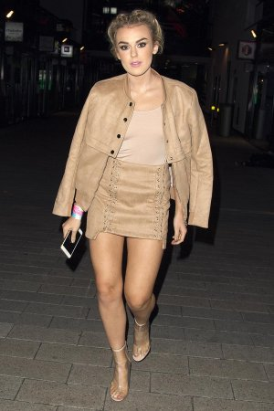 Tallia Storm leaving SSE Arena Following Teen Awards
