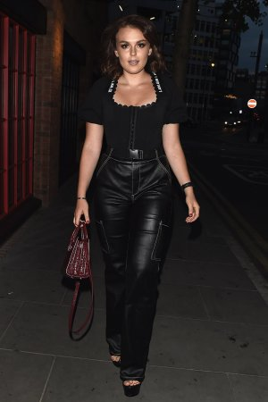 Tallia Storm leaving The Curtain Hotel