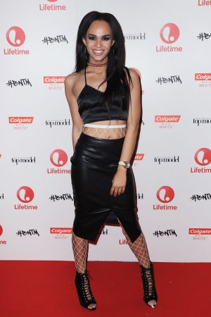 Talulah-Eve Brown during the launch for the new season of Britain Next Top Model