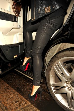 Tamara Ecclestone leaving the 34 restaurant in London