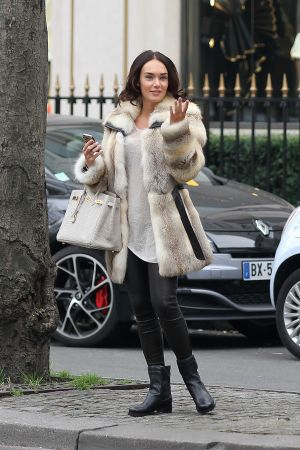 Tamara Ecclestone shopping in Paris