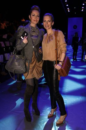 Tamara von Nayhauss at Autumn/Winter 2012 fashion show during Mercedes-Benz Fashion Week Berlin