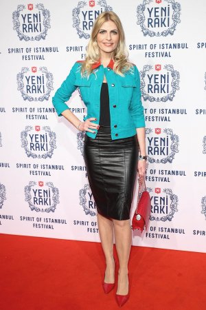 Tanja Buelter arrives at the 5th Spirit of Istanbul festival