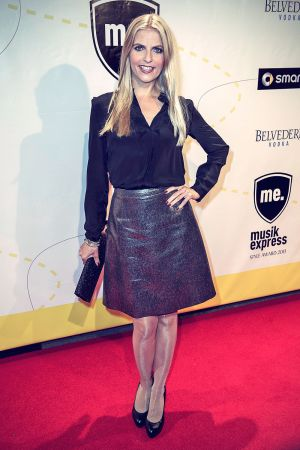 Tanja Bulter attends Express Music Style Awards