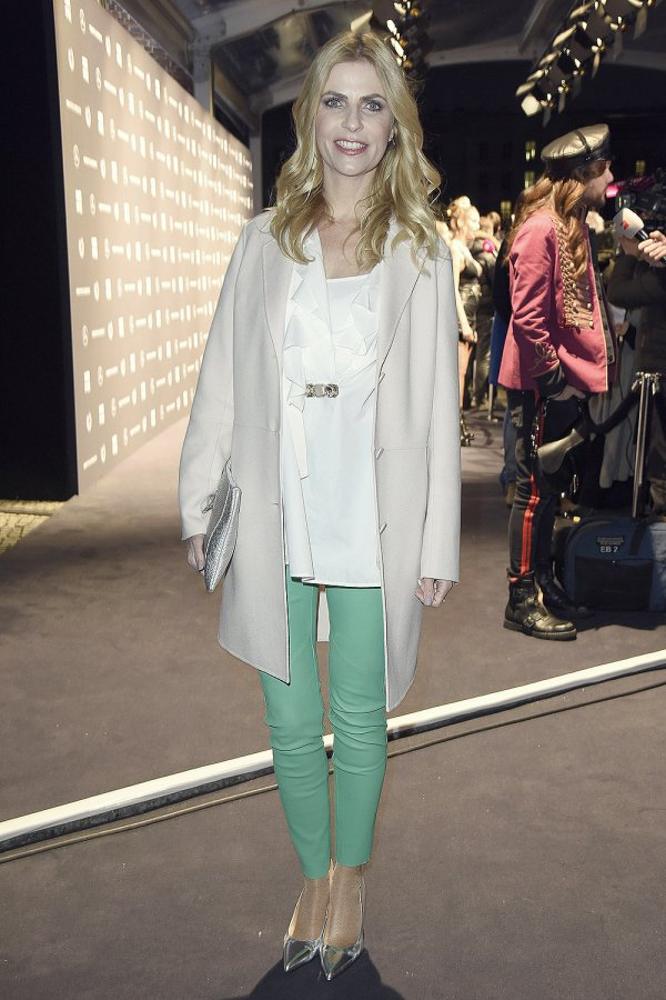 Tanja Bulter attends Riani Fashion Show - Berlin Fashion Week