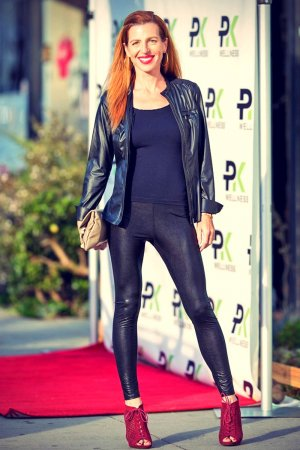 Tanna Frederick attends launch of PK Fitness