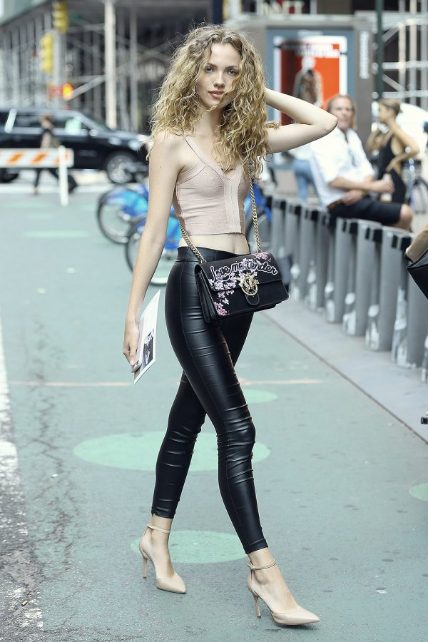 Tanya Kizko attends callbacks for the Victoria's Secret Fashion Show