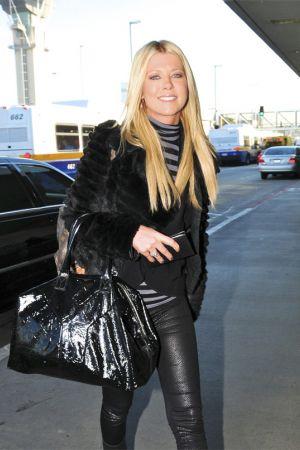 Tara Reid arrives at LAX airport in LA