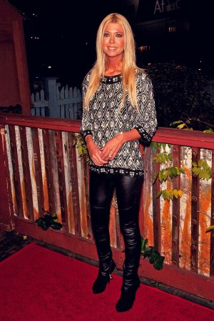 Tara Reid arrives at the Artists For Peace And Justice