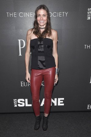 Tara Westwood attends a Cinema Society screening of EuropaCorp's Miss Sloane