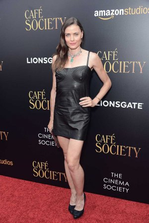 Tara Westwood attends the New York premiere of Cafe Society