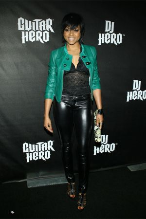 Taraji P Henson DJ Hero launch party in LA