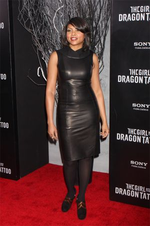 Taraji P Henson The Girl With The Dragon Tatoo Premiere in NYC
