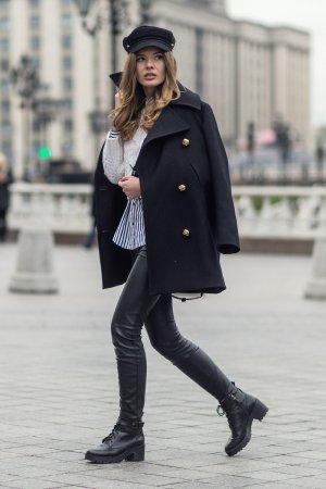 Tatiana Vasilieva at Mercedes-Benz Fashion Week Russia