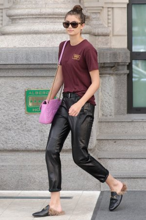 Taylor Hill seen in Milan