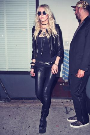 Taylor Momsen leaving Warwick Nightclub